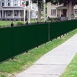 BOUYA Green Privacy Fence Screen 4' x 25' Heavy