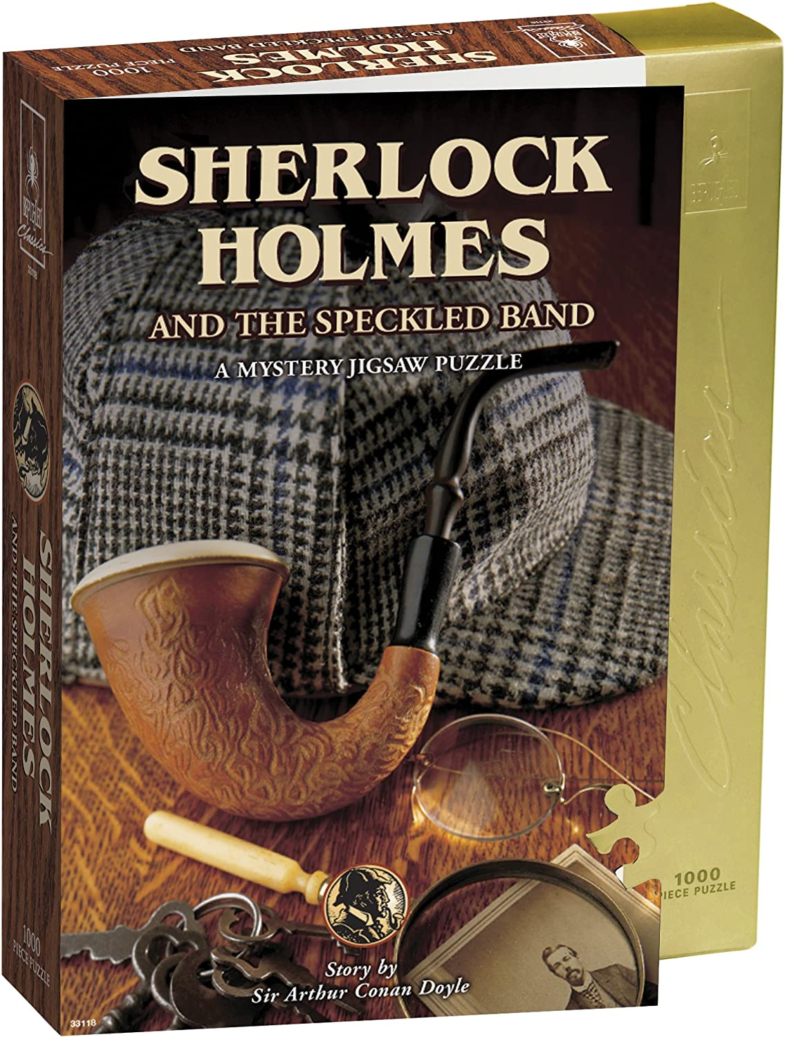 Sherlock Holmes and The Speckled Band Mystery Rompecabezas (Jigsaw Puzzle) (1000 Piezas): Amazon.es: Juguetes y juegos