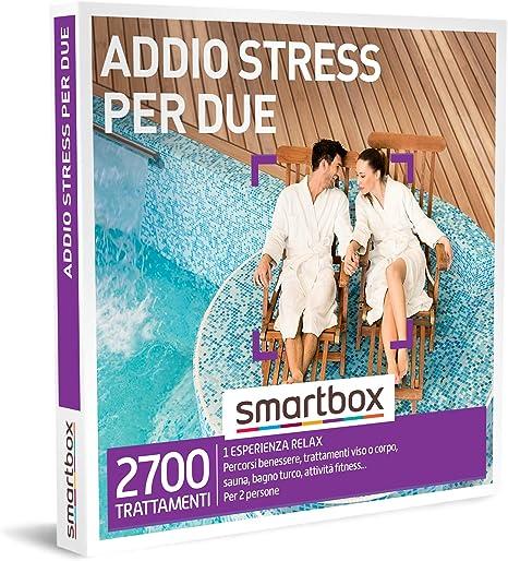 Smartbox - cofanetto regalo coppia- idee regalo originale - esperienza di relax per dire addio allo stress 847917