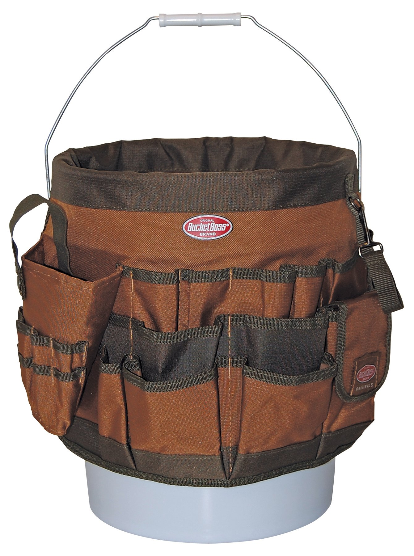 Bucket Boss 56 Bucket Tool Organizer in Brown, 10056 by Bucket Boss (Image #1)
