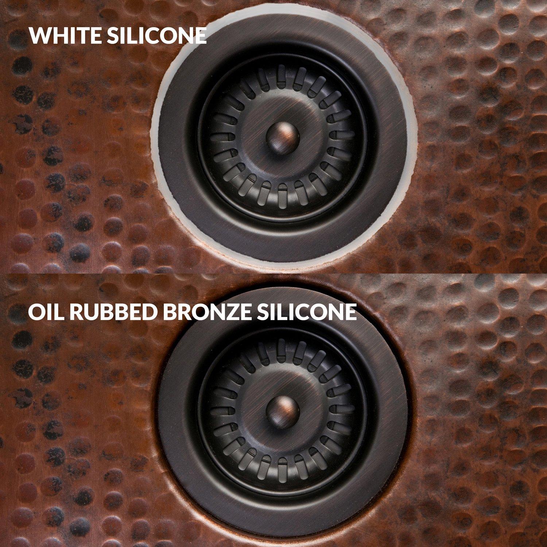 Amazon.com: Premier Copper Products C900-ORB Universal Copper Sink ...