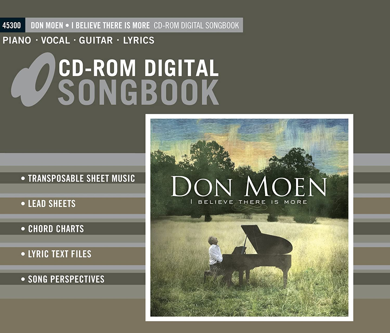 Don Moen I Believe There Is More Cd Rom Songbook Amazon Music