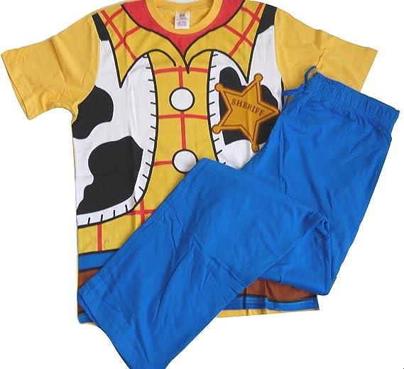 Para hombre pijama oficial de Disney Toy Story Woody Novelty pijama Set
