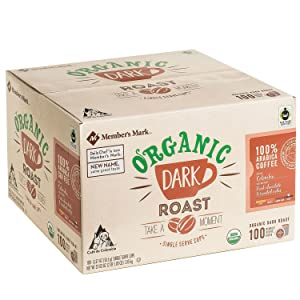 Member's Mark Organic Dark Roast Coffee