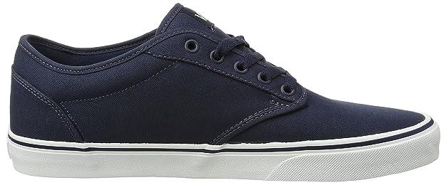 Amazon.com | Vans Mens Atwood (Canvas) Skate Shoes, Navy/White, 9 D(M) US | Shoes