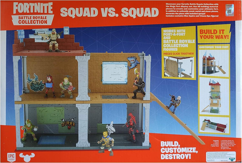 Fortnite Battle Royale Collection Squad vs. Squad Mega Fort: Amazon.es: Juguetes y juegos