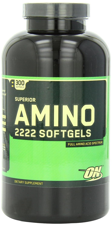Optimum Nutrition Superior Amino 2222, 300 Softgels