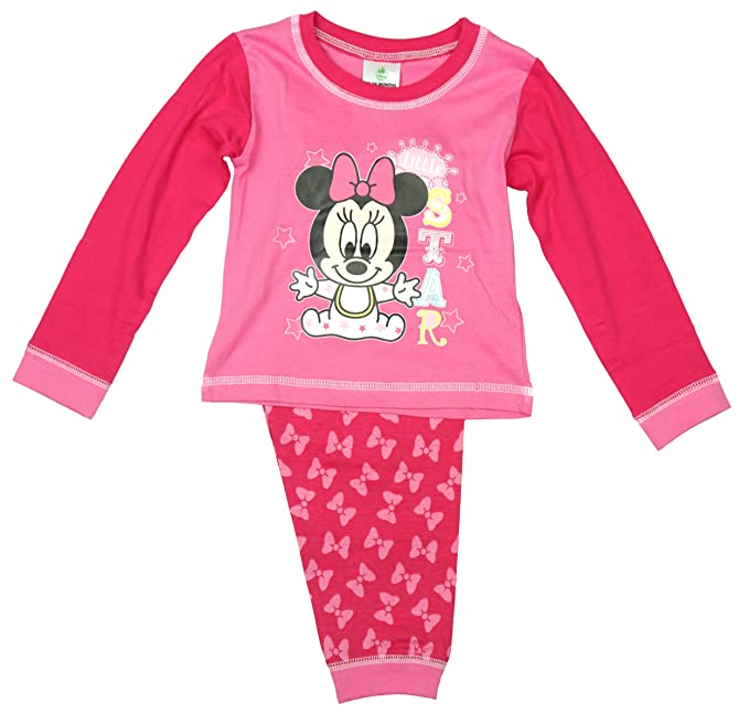 Disney - Pijamas enteros - para bebé niña rosa rosa