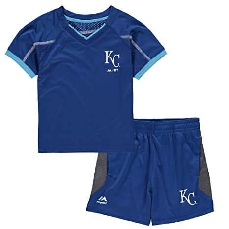 62f8fe0a34c Outerstuff Kansas City Royals Blue Toddler Royal Legacy T-Shirt   Shorts Set  (2T