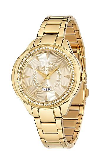 Just Cavalli R7253571501 - Reloj de Pulsera para Mujer, Color Oro