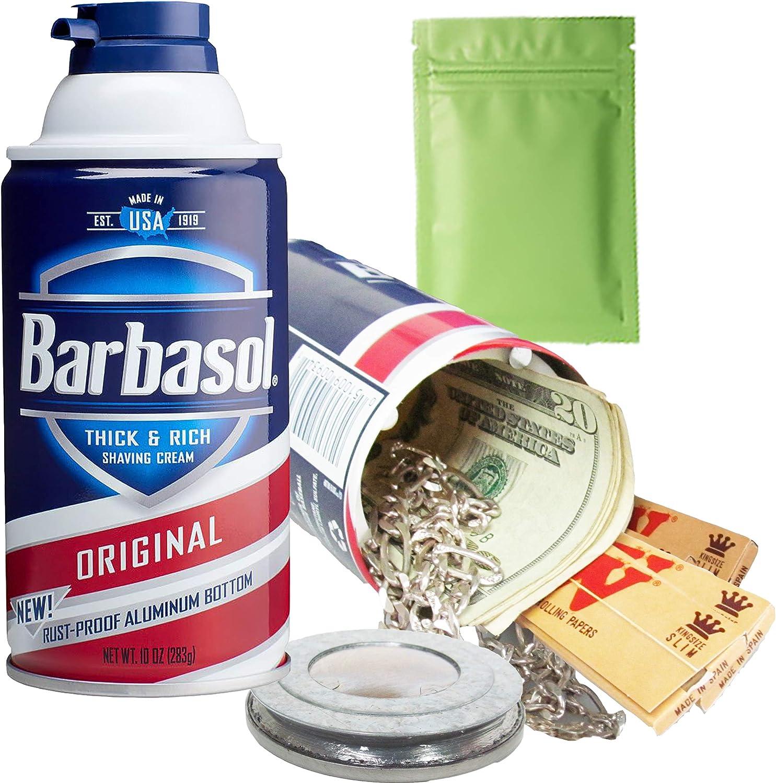 2 Pack SHAVING CREAM Diversion Can Safe stash jewelry box PIGGY BANK # 03