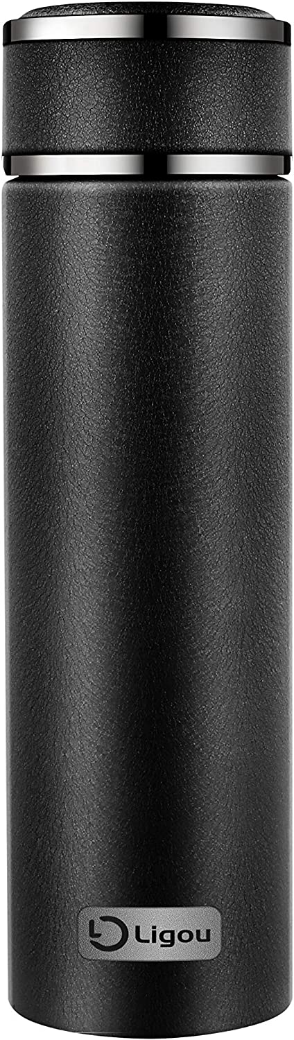 Insulation Stainless Steel Mug, business, travel, sport's choose (Black)