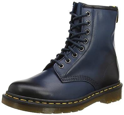 Dr. Martens Unisex-Erwachsene 1460 Antique Temperly Sea Blue Combat Boots