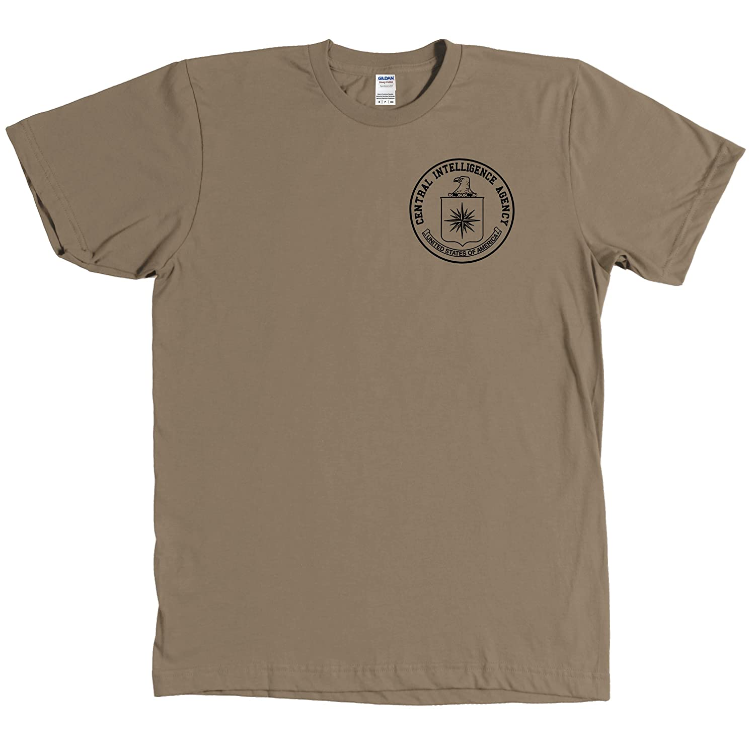 CIA Central Intelligence Agency Blacked Out Seal Shirt USA - MORE COLORS | Amazon.com