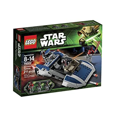 LEGO Star Wars Mandalorian Speeder (75022): Toys & Games
