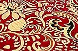 United Weavers of America Dallas Bandanna Rug - Red