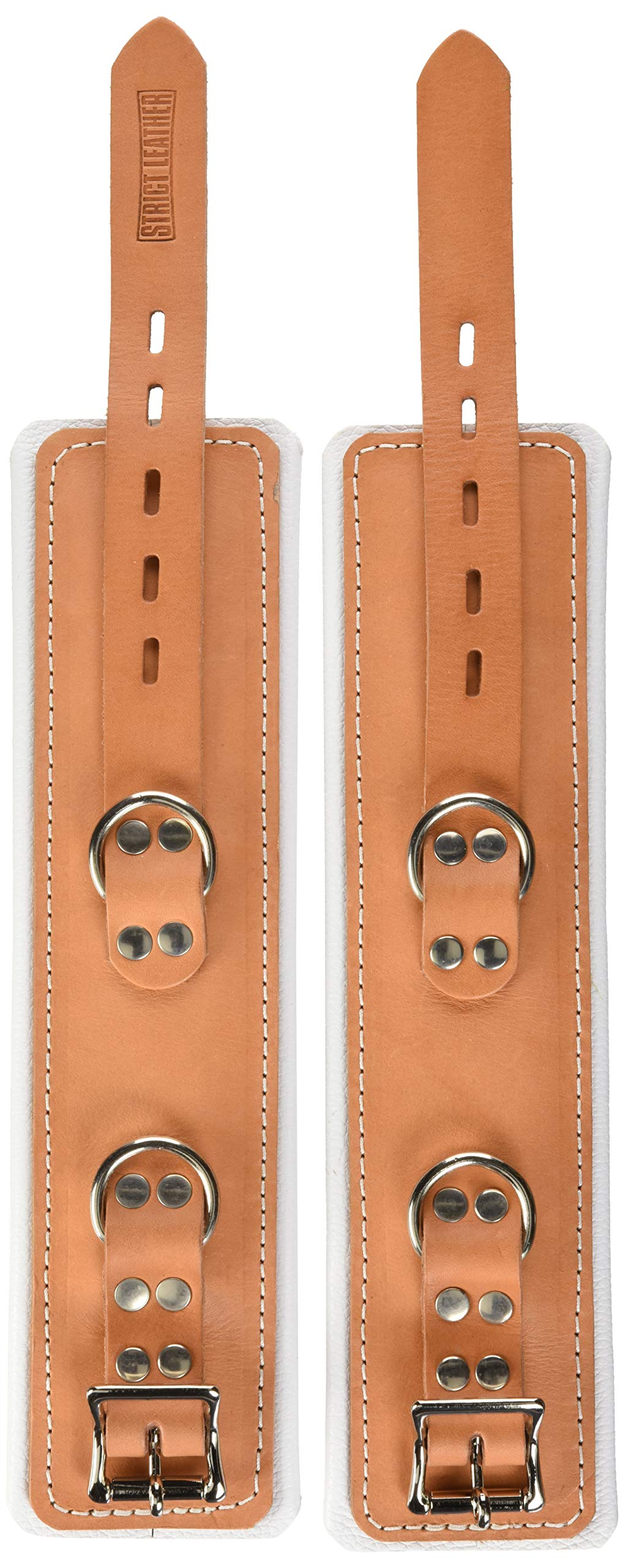 Strict Leather Leather Padded Hospital Style Restraints, Wrist by Strict Leather
