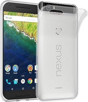 Cadorabo Funda para Huawei Nexus 6P en Transparente – Cubierta ...
