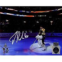 $89 » Tuukka Rask Boston Bruins Signed Autographed Pregame National Anthem 8x10