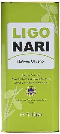 purchase cheap a32d4 0cb19 Ligonari Natives Olivenöl - 5,00L Kanister, 1er Pack (1 x 5 l