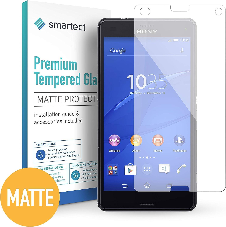 smartect Protector de Pantalla Mate para Sony Xperia Z3 Compact ...