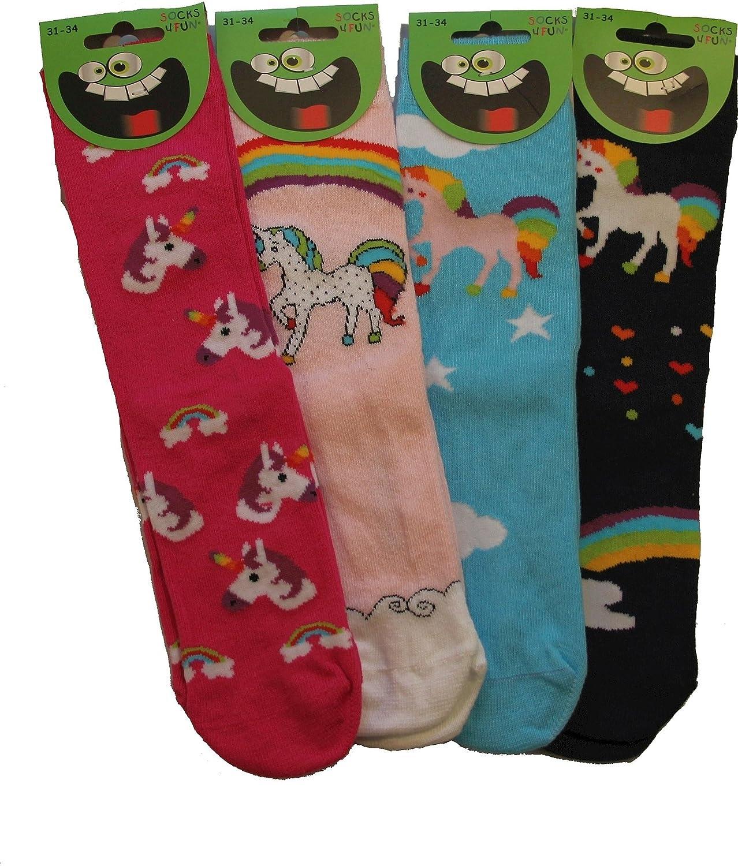 Canvalite Mädchen Socken, Cartoon Tier Socken Geschenk für ...