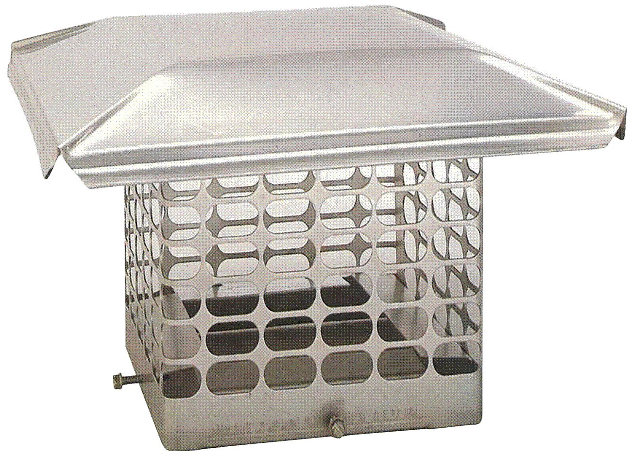 The Forever Cap CCSS813 8 x 13-Inch Stainless Steel Single Flue Chimney Cap by The Forever Cap