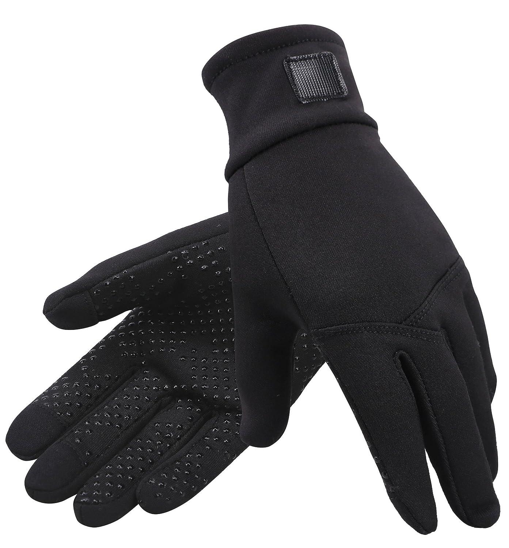ANDORRA Womens Hyper Tech Touchscreen Mittens with Pockets /& Optional Light Inner Gloves