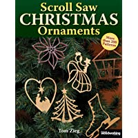 SCROLL SAW XMAS ORNAMENTS: Over 200 Patterns (Christmas)