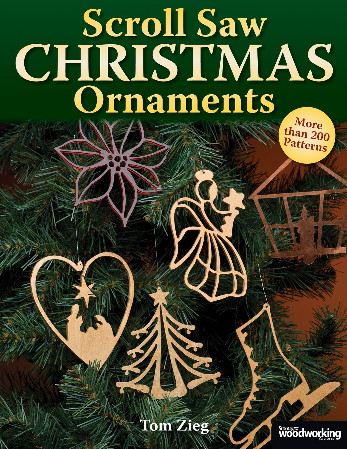 Scroll Saw Christmas Ornaments Patterns product image