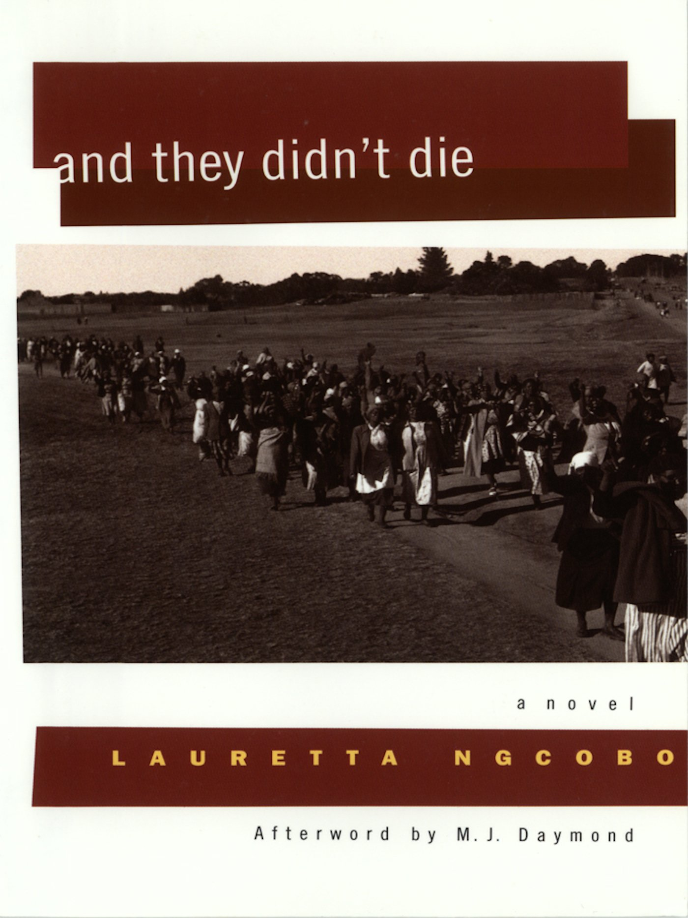 And They Didn't Die (women Writing Africa): Lauretta Ngcobo, Margaret  Daymond: 9781558612136: Amazon: Books