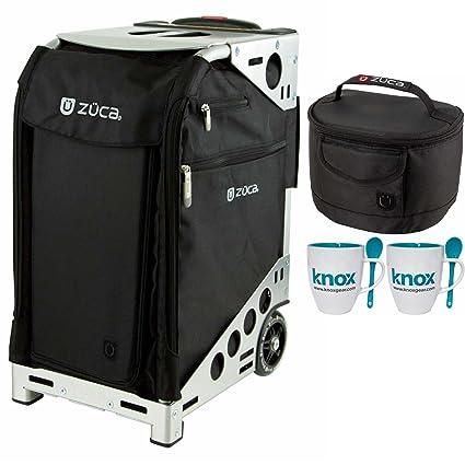 Amazon.com: zuca Pro Conjunto de caso (Black/marco plateado ...
