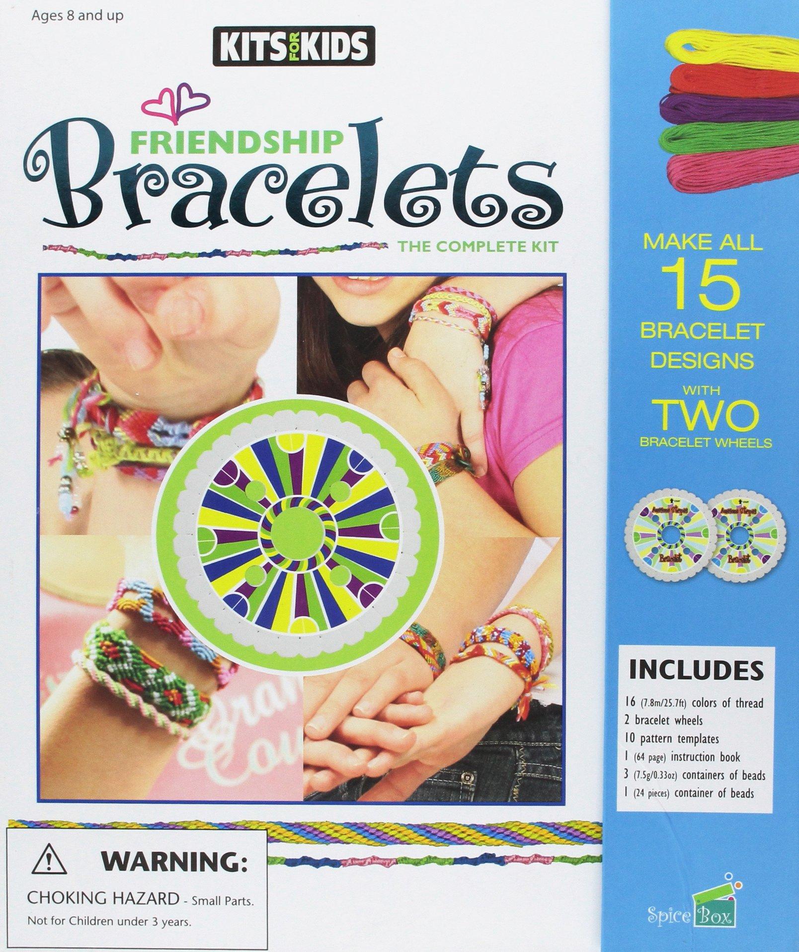 63f7414e69962 Friendship Bracelets (Kits for Kids): Amazon.co.uk: Spicebox ...