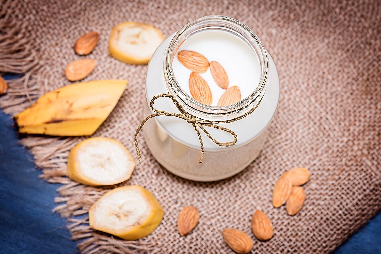 Leche de almendra & fría brew Café Kit - Incluye Granja rígida 12