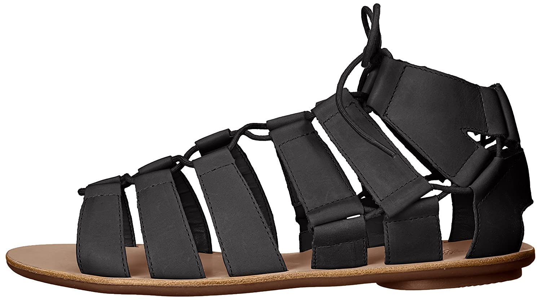 Loeffler Randall Women's Skye-VAC Gladiator Sandal B01APN00W4 5.5 B(M) US|Black
