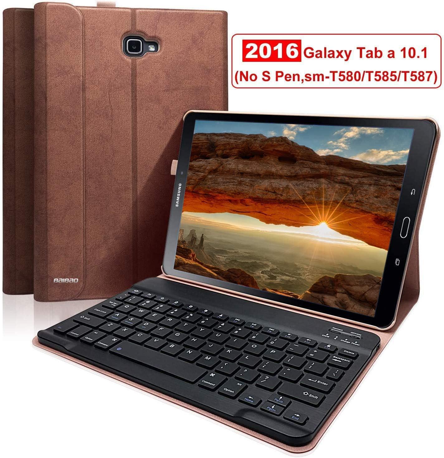 Funda Samsung Galaxy Tab a 10.1con teclado sm-T580/T585(72V)