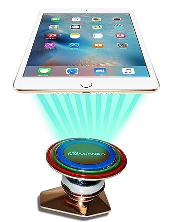 joshnah magnético Soporte de coche, universal soporte para teléfono celular móvil GPS para coche,