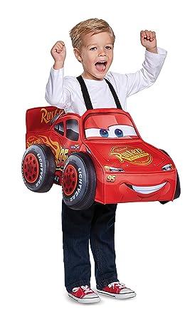 Amazon.com: Disfraz de Rayo McQueen 3D para niño: Toys & Games