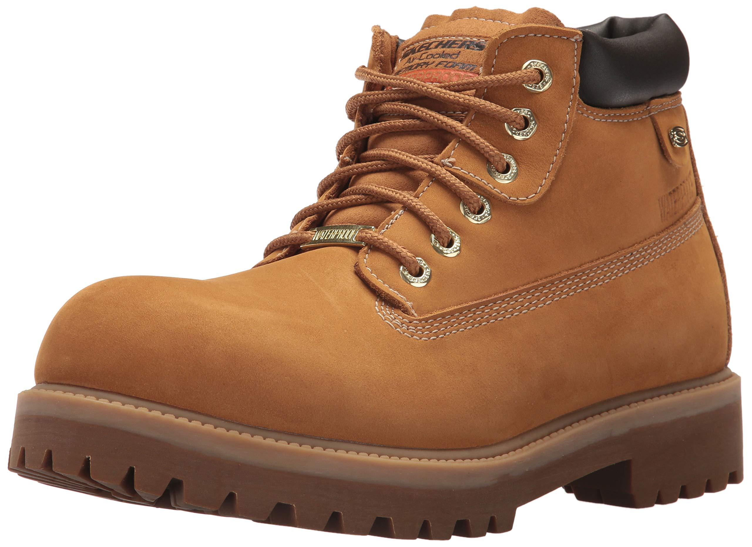 Skechers Men's Sergeants-Verdict Fashion Boot, WTG, 10.5 Medium US