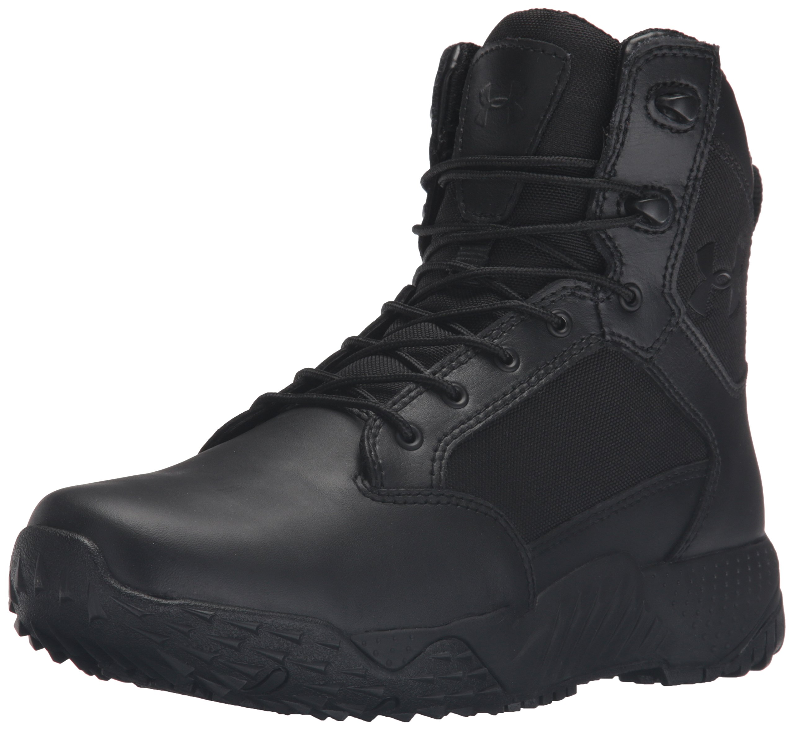 Under Armour Womens Stellar Military and Tactical Boot, Black (001)/Black, 8.5