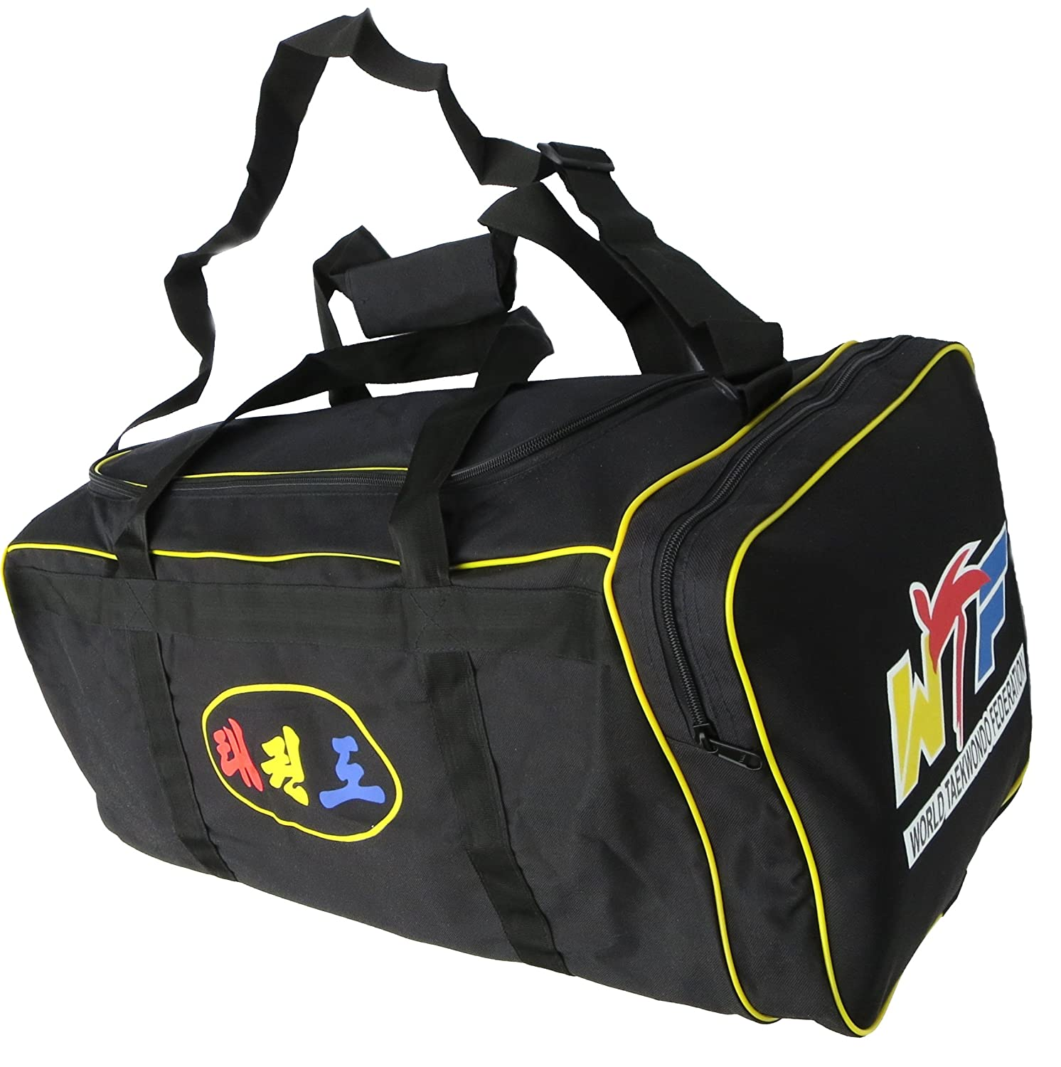 Taekwondo Holdalls with new WTF logo - Great Bags for you or a Gift Sportsupply.org