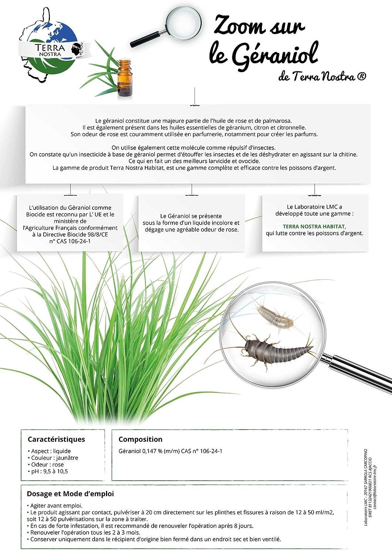 Insecte Salle De Bain Poisson D'Argent ~ terra nostra insecticide naturel sp cial poisson d argent l pisme