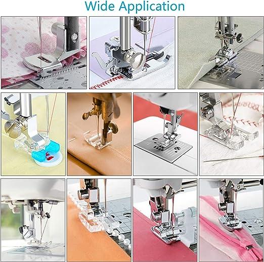 11pcs KATOOM Prensatelas Accesorios para Máquina de coser ...