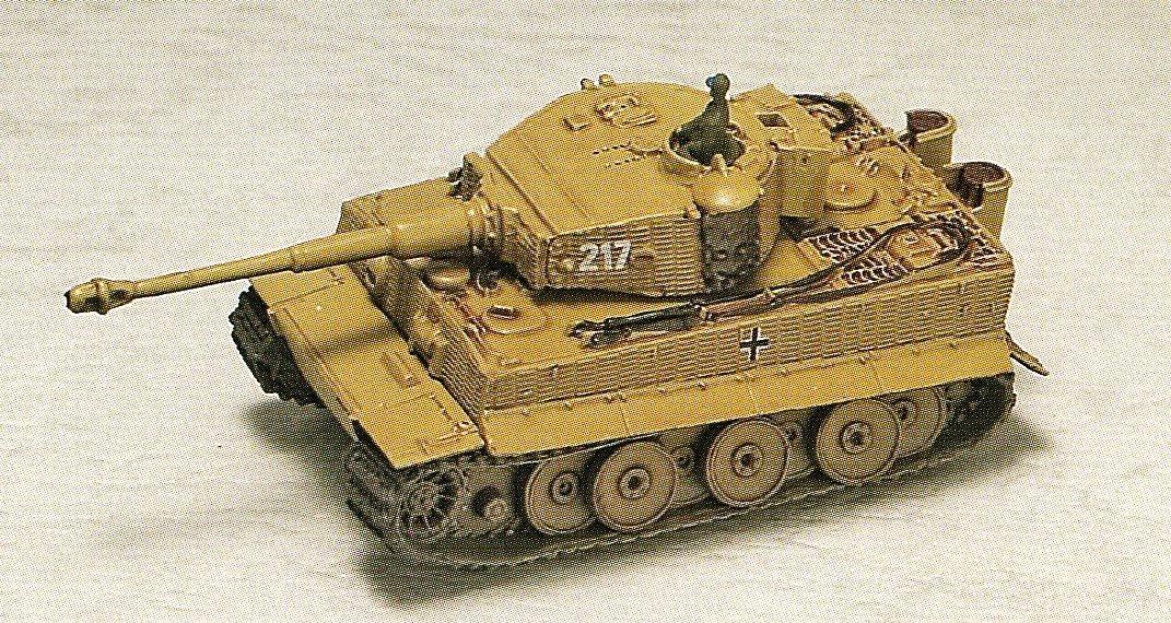 1 144 Welt Tank Museum Series 07 [Schlacht von Kursk] geheime Gegenstände Tiger Typ I schwere Panzer [Mid]   503 Heavy Tank Battalion zweiten Geschwader 217 Auto Otto Carius Lieutenant Einsteigen Fahrzeuge separat