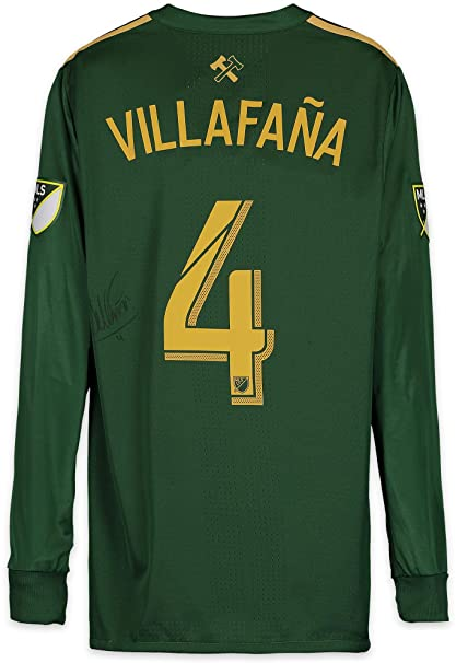 best service a3d67 7fc41 Jorge Villafana Portland Timbers Autographed Match-Used ...