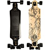 Evolve Skateboards - Bamboo GT Street Electric Longboard Skateboard - 21 Mile Range - 26 mph Top Speed -Digital LCD Screen Remote Control - Lithium-Ion Battery