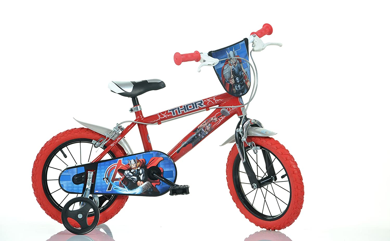 Dino Bikes 414u-thr Marvel Thor 35,6 cm Fahrrad, Mehrfarbig, 60 x 80 cm