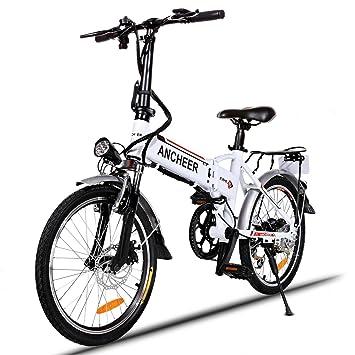 "Klapprad Elektrofahrrad 20/"" Faltrad ebike 7-Gang Mountainbike Pedelec Li-Ion 36V"