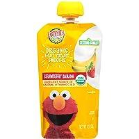 Earth's Best Organic Fruit Yogurt Smoothie, Strawberry Banana, 4.2 Ounce (Pack of...