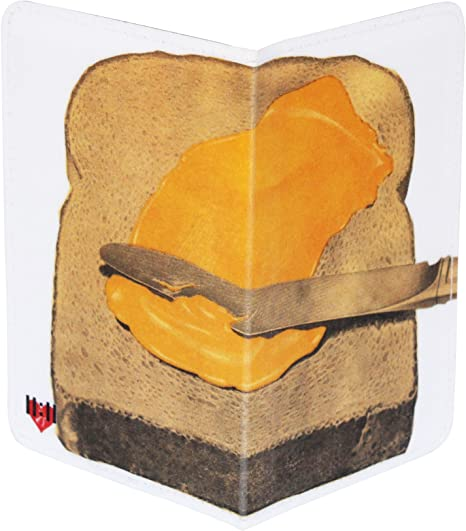 Credit /& ID Card Holder Bread /& Butter Business Toast /& Jam